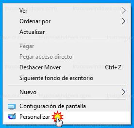Windows 10 - Personalizar