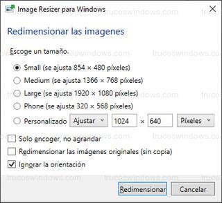 PowerToys - Image Resizer