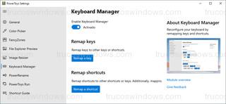 PowerToys - Keyboard Manager