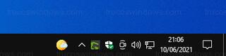 Barra de tareas de Windows 10 - Icono de Noticias e intereses