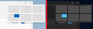 Windows 11 - Menú emergente maximizar