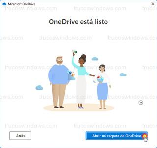Microsoft OneDrive - Abrir mi carpeta de OneDrive