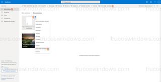 Historial de versiones del archivo - Restaurar desde el historial de versiones vía web