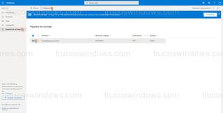 Página web oficial OneDrive - Restaurar desde página web oficial