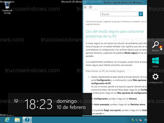 Windows 8 - Buscar (barra charm)