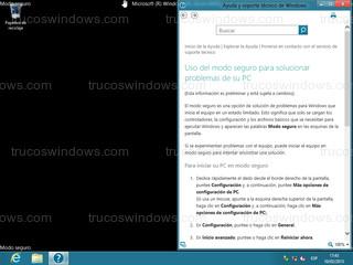 Windows 8 - Modo seguro de Windows 8