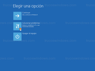 Windows 8 - Solucionar problemas